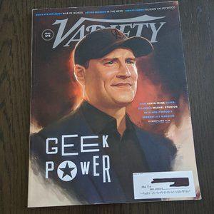 Other - Variety Magazine April 16, 2019 Kevin Feige Marvel